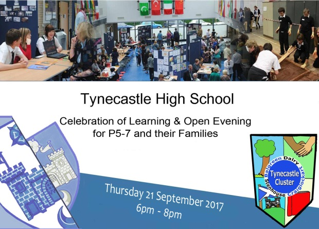 Open evening big invite 2017